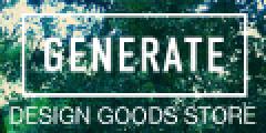 世界の最先端デザイン雑貨・インテリアセレクトショップ【Generate Design】