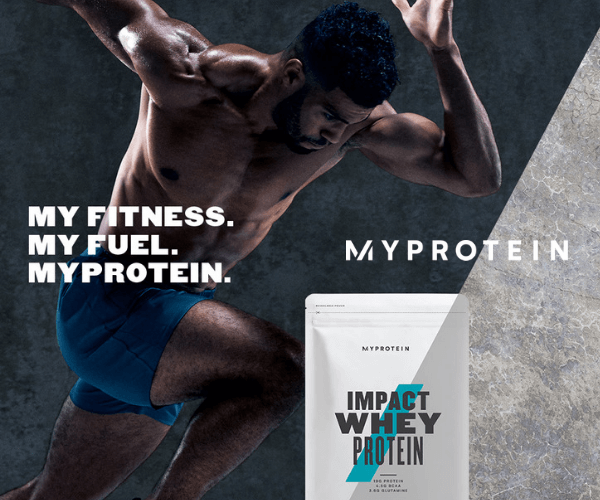 イギリス発の世界で大流行スポーツ栄養ブランド【Myprotein】