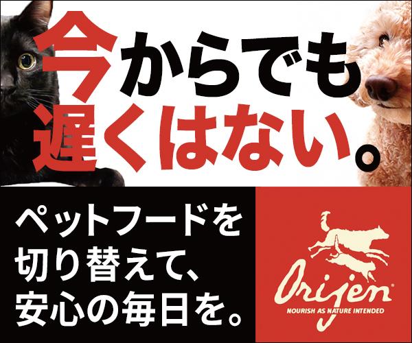 世界一の賞を受賞したペットフード「ORIJEN」