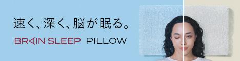 最高の睡眠枕【ブレインスリープピローSTANDARD】商品モニター