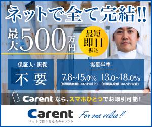 CARENT(キャレント)の事業者ローン